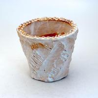 陶器製(2.5号ポット相当)多肉植物の欲しがる植木鉢 OPS-8907