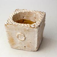 陶器製(2号ポット相当)多肉植物の欲しがる植木鉢 KKS-2101