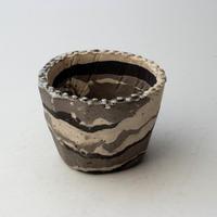 3/24〜4/30 緊急割引10%陶器製(2号ポット相当) 植木鉢  AASc-ミカゲ-9686