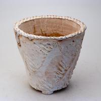 陶器製(3.5号ポット相当)多肉植物の欲しがる植木鉢 OPL-7763