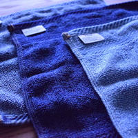 FADE DENIM -MINI HANDKERCHIEF-