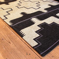 NATIVE RUG BLACK