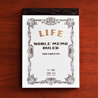 NOBLE MEMO B7 series -BLUE 横軸-
