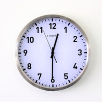 STEEL WALL CLOCK 34
