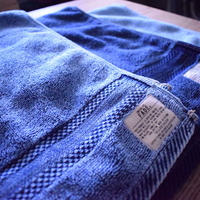 FADE DENIM -BATH TOWEL (L)-