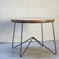 TH IRON COFFEE TABLE