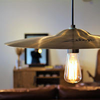 Cymbal pendant lamp 18inch