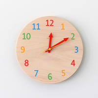 Lemnos Palette wall clock