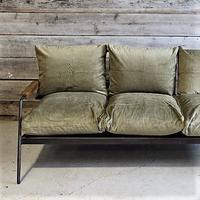 """a depeche"" socph sofa 3sheet -olive khaki corduroy-"