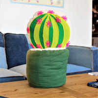 CACTUS & POT CUSHION SET -BALL-