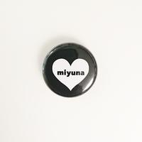 12/30~発送開始【Badge-No.007】miyuna's  オリジナル缶バッジ