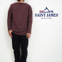 "SAINT JAMES(セントジェームス) OUESSANT ""SOLID"" [ CACAO(CAC)(BRN) ] ウエッソン ""無地""[カカオ]"