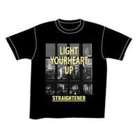 LIGHT YOURHEART UP Tee/ブラック