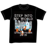 ツアー Tシャツ 黒【AQST17801148~49】