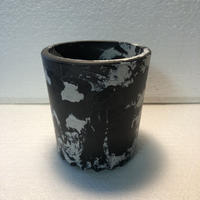 W name Marble plastic Pot(Limited color)
