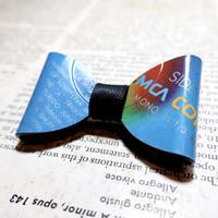 vinyl bow tie mini