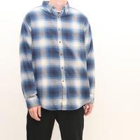 Ombre Checker Flannel Shirt