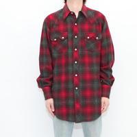 H BAR C Wool Western Shirt