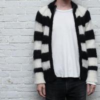 Zip Up Mohair Sweater