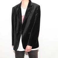 Velvet  Tailored  Jacket