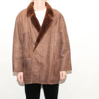 Vintage Mouton Leather Jacket