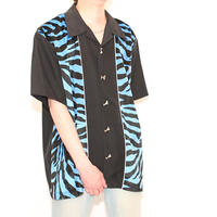 Open-Collared S/S Shirt