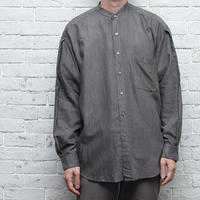 Rayon No collar L/S Shirt