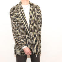 Geometric pattern Jacket