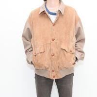 Ralph Lauren Suede × Wool Jacket