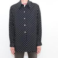 70's Dot Pattern L/S Shirt