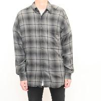 Ombre Check Rayon Shirt