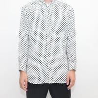 Polka  Dot Pattern L/S Shirt