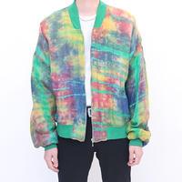Tie Dye Rayon Jacket
