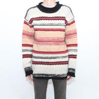 Border Knit Sweater