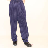 Polka Dot  Easy Pants