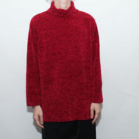 Velvet Turtle Neck Sweater