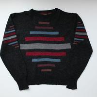 デザインニット モヘア混 Sweater