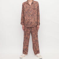 Leopard Pattern Pajama Set Up