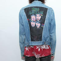 Vintage Kiss Custom Denim Jacket