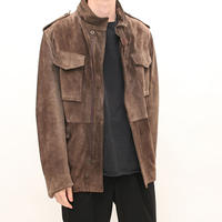 Suede M-65 Style Jacket
