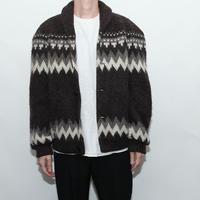 Nordic knit Blouson