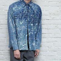 Hard Peint Vintage Flannel Shirt