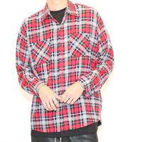 Print Flannel Shirt