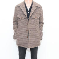 Hound's Tooth Wool Jacket
