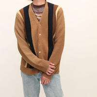 Vintage Stripe Knit Cardigan
