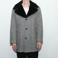 Wool Boa Coat