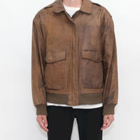 A-2 Type Leather Jacket