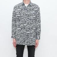 Silk Animal Pattern L/S Shirt