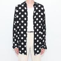 Rayon Dot Pattern L/S Shirt