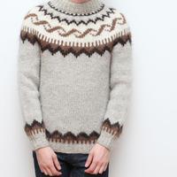 ノルディックセーター アイスランド製 Vintage Nordic Sweater